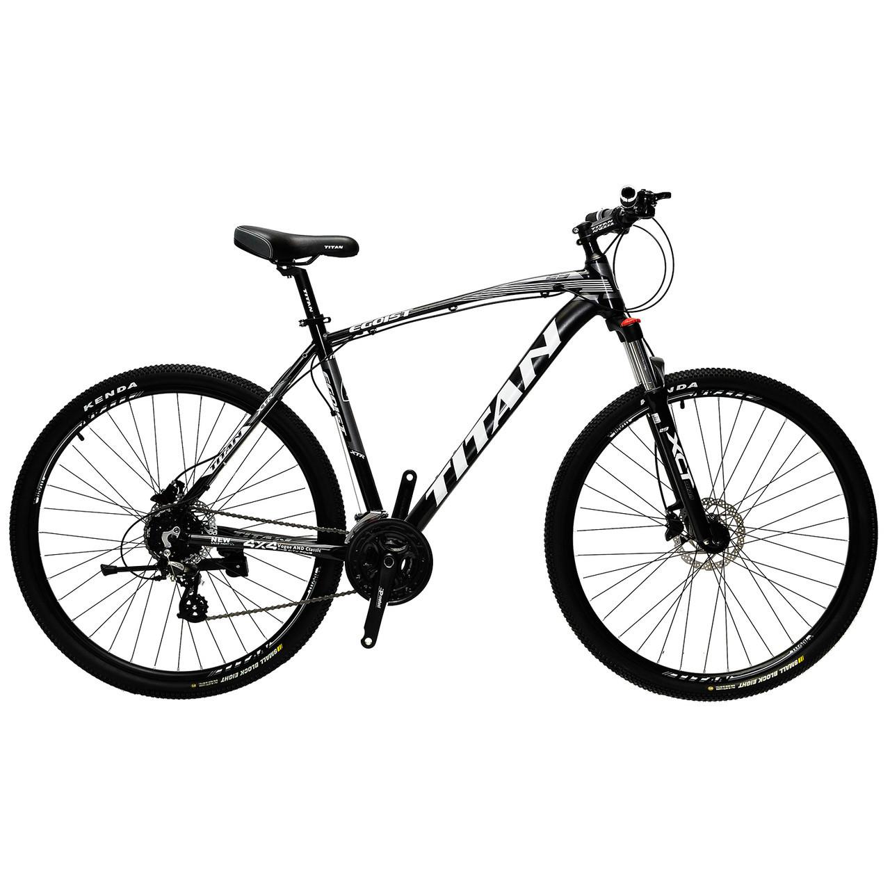 🚲Горный алюминиевый велосипед TITAN EGOIST HDD (Shimano, 24sp, Lockout); рама 21; колеса 29