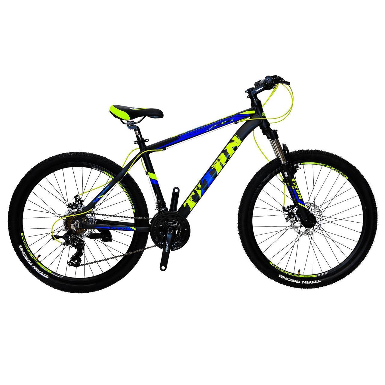 🚲Горный алюминиевый велосипед TITAN EXTREME DD; рама 17; колеса 26