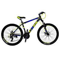 🚲Горный алюминиевый велосипед TITAN EXTREME DD; рама 17; колеса 26, фото 1