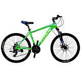 🚲Горный алюминиевый велосипед TITAN SCORPION DD; рама 17; колеса 26, фото 3