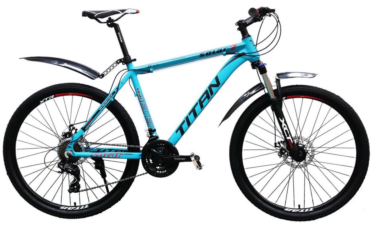 🚲Горный алюминиевый велосипед TITAN SOLAR DD 2018; рама 19; колеса 26