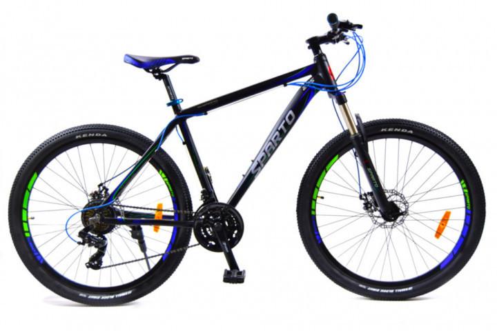 🚲Горный алюминиевый горный дисковый велосипед BENETTI SIRIUS DD 2018; рама 17; колеса 27,5