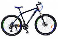 🚲Горный алюминиевый горный дисковый велосипед BENETTI SIRIUS DD 2018; рама 17; колеса 27,5, фото 1