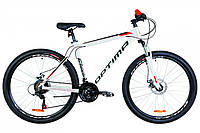 🚲Горный алюминиевый дисковый велосипед OPTIMA MOTION DD 2019; рама 17; колеса 27,5, фото 1