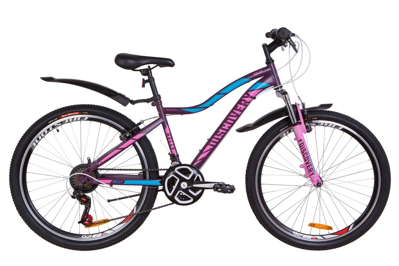 🚲Горный стальной велосипед Discovery KELLY 2019; рама 15; колеса 26