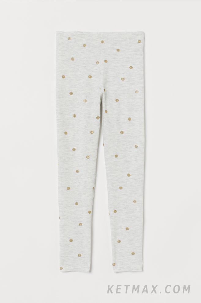 Трикотажные леггинсы H&M для девочки