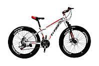 🚲Горный стальной дисковый велосипед TITAN MAXUS (21 speed, полуавтоматы); рама 12; колеса 24, фото 1