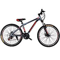 🚲Горный стальной дисковый велосипед TITAN PROTEY DD (Shimano, моноблок); рама 19; колеса 26, фото 1