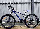 🚲Горный стальной дисковый велосипед TITAN SPIDER DD (Shimano, моноблок); рама 15; колеса 26, фото 4