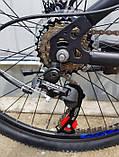 🚲Горный стальной дисковый велосипед TITAN SPIDER DD (Shimano, моноблок); рама 15; колеса 26, фото 5