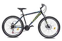 🚲Горный стальной дисковый велосипед TOTEM HD; рама 17; колеса 26, фото 1