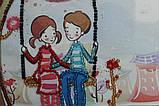 Набір-сумка для вишивання бісером «Гойдалка», Abris art, фото 2