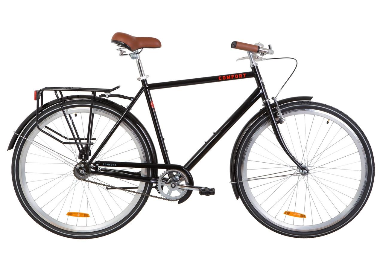 🚲Городской стальной велосипед Dorozhnik COMFORT MALE; рама 22; колеса 28