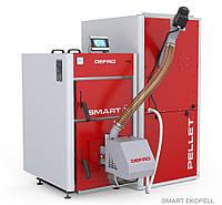 Котел твердотопливный Smart Eko Pell 20 кВт автомат. подача DEFRO