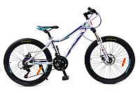 🚲Подростковый алюминиевый велосипед BENETTI Lucki DD; рама 13; колеса 24, фото 1