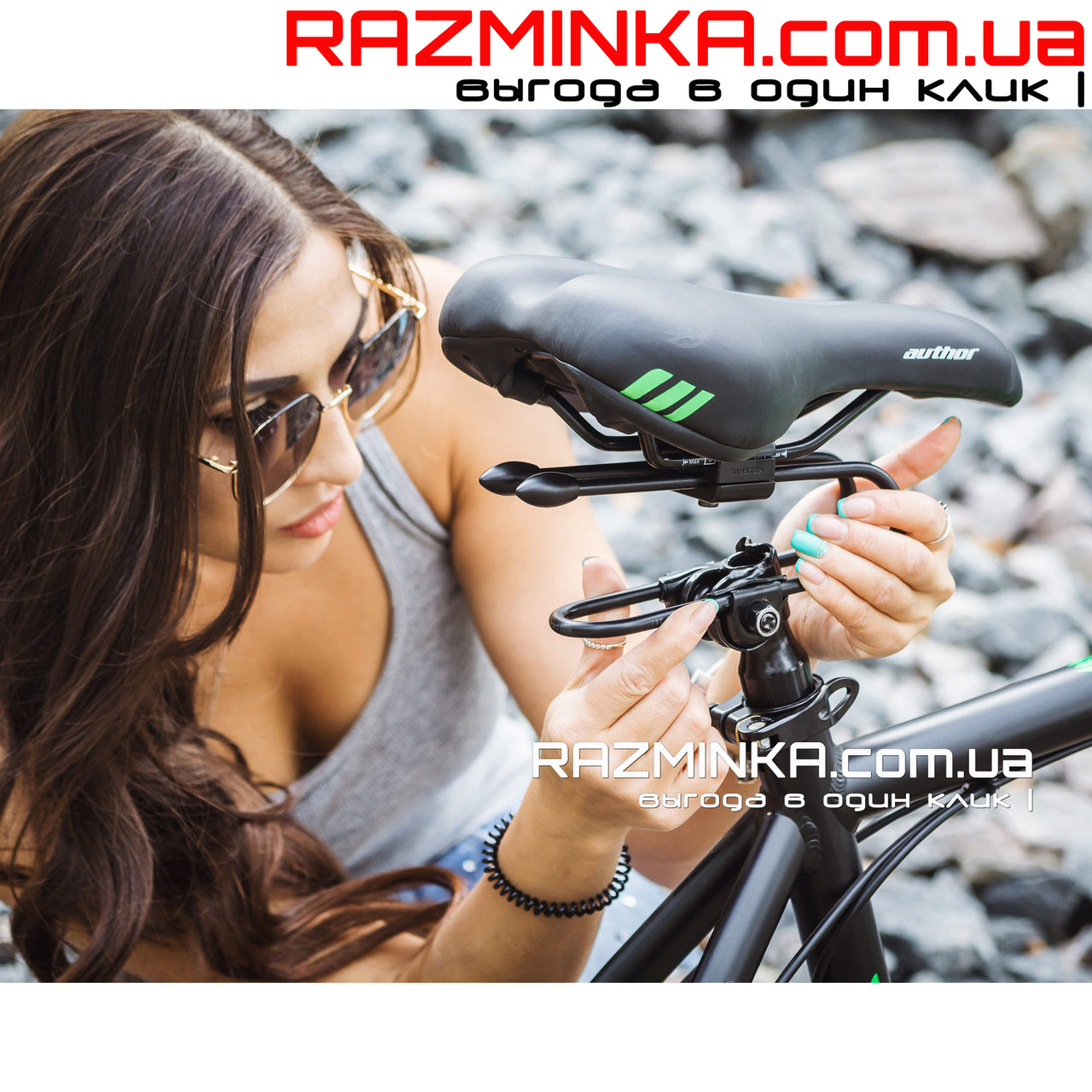 Амортизатор для велосипеда Rinsten Spring