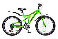 🚲Подростковый стальной горный велосипед Discovery ROCKET 2018; рама 15; колеса 24, фото 1