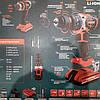 Бесщеточный шуруповерт аккумуляторный Start pro SCD-21/2 BRUSHLESS Li-Ion 21В, 2 аккумулятора, фото 4