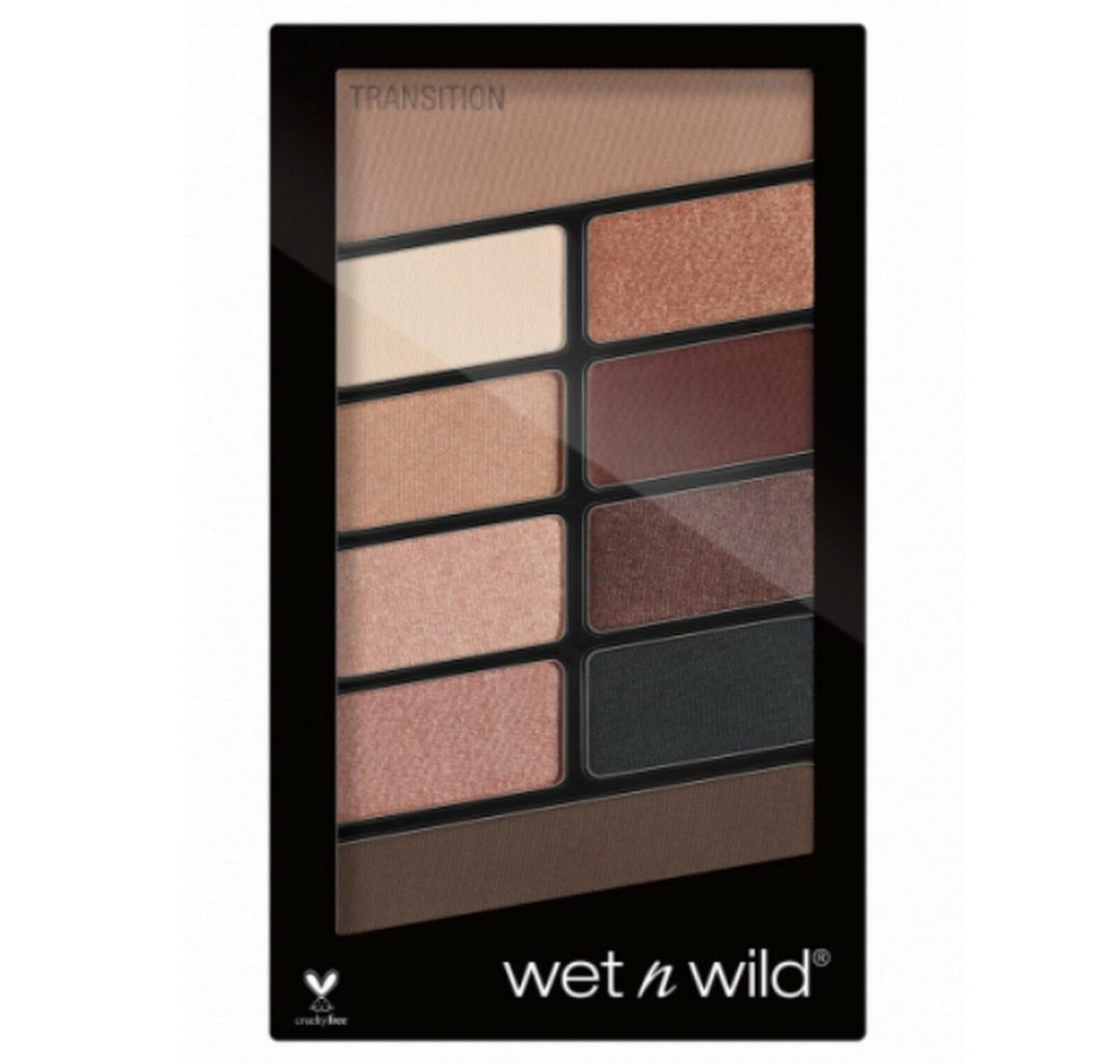 Палетка теней 10 оттенков Wet n Wild Nude Awakening Color Icon Eyeshadow 757A