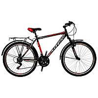 🚲Горно- городской стальной велосипед TITAN SONATA (21 SP, Shimano); рама 19; колеса 26