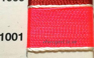 Швейная нить Gold Polydea 40 № 1001, цв.  ярко-розовый, фото 2