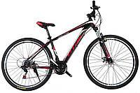 🚲Горный стальной дисковый велосипед EVOLUTION DD (Shimano, моноблок); рама 17; колеса 29