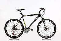 🚲Горный стальной дисковый велосипед TOTEM COOL TOOL; рама 17; колеса 26