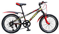 🚲Детский алюминиевый горный велосипед TITAN TIGER; рама 10; колеса 20
