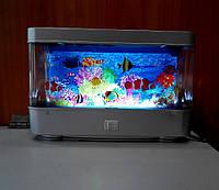 Светильник аквариум с рыбками