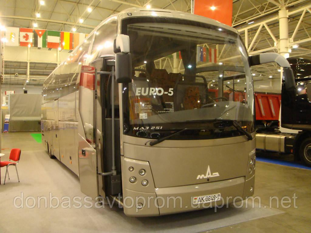 Новый междугородний автобус МАЗ 251 062
