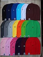 Трикотажные демисезонные подростковые (взрослые) двойные шапки Bape