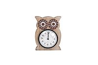 Часы настоль. Совушка 14*3*18,5 см