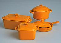 Gratinee Емкость для запекания 11см (сковорода) оранж.