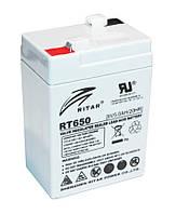 Аккумуляторная батарея Ritar RT650 (6V 5 Ah)