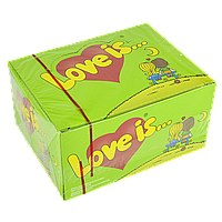 "Жевательная резинка ""Love is"" 100 шт Яблоко-Лимон, фото 1"