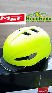 Велошолом MET CORSO Road M 56-58 см неоновий салатовий