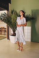 Женское платье с воланами на лето - две расцветки, фото 3
