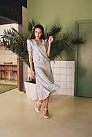 Женское платье с воланами на лето - две расцветки, фото 2