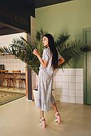 Женское платье с воланами на лето - две расцветки, фото 4