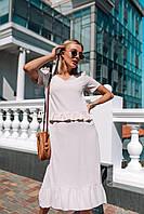 Женское платье с воланами на лето - две расцветки, фото 5