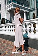 Женское платье с воланами на лето - две расцветки, фото 6