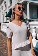 Женское платье с воланами на лето - две расцветки, фото 8
