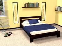 Кровать двуспальная Сакура из бука