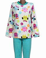 acf2bf4539d0 Женская пижама махровая (велсофт) теплая кофта с брюками зимняя