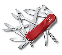 2.3953.SE Нож Victorinox Delemont, & Evolution S52& , 85 мм, красный (2.3953.SE)