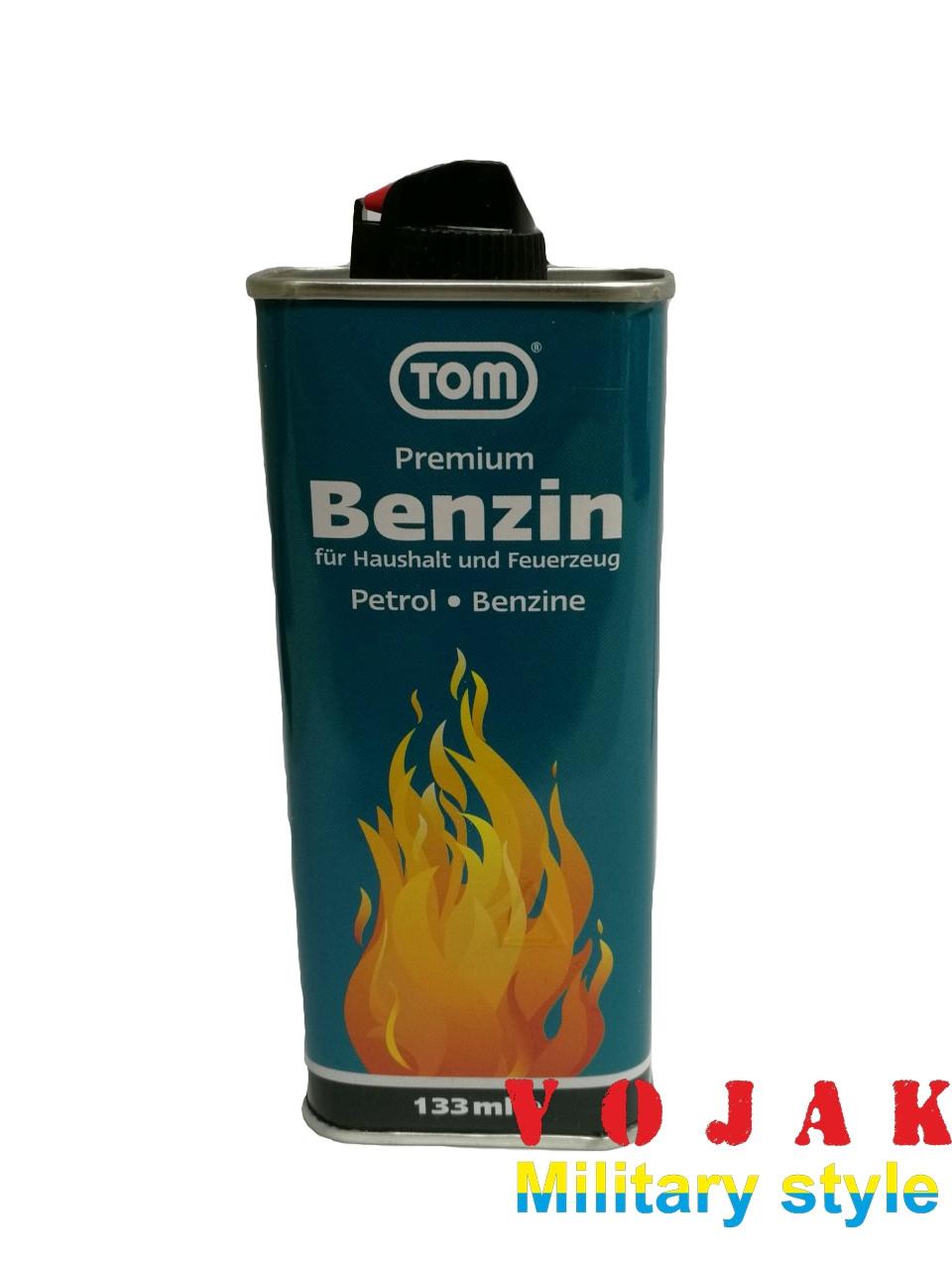 "Бензин для заправки зажигалок ""Tom"""