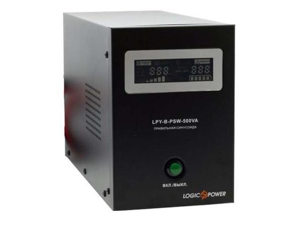 UPS LogicPower LPY-B-PSW-500VA+