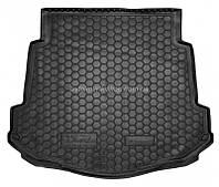 Резиновый коврик в багажник Ford Mondeo lV 2007- (седан) (с докаткой) Avto-Gumm