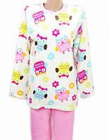 10c11be6bf30 Женская махровая пижама (велсофт) теплая кофта с брюками зимняя