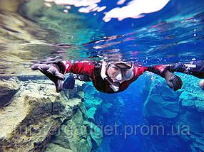 Маска подводная EasyBreath Дайвинг, Снорклинг, фото 3